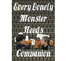 Every Lonely Monster...[Johnlock] Photographic Print