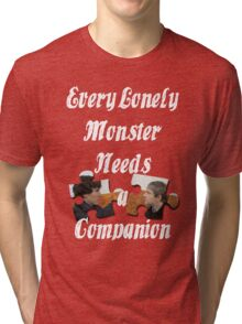 Every Lonely Monster...[Johnlock] Tri-blend T-Shirt