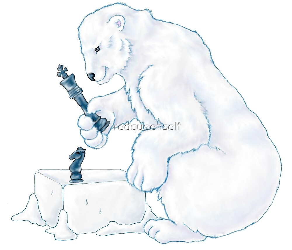 Polar Bear Games  by redqueenself