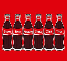 Avengers - Coke Friends by SquareDog