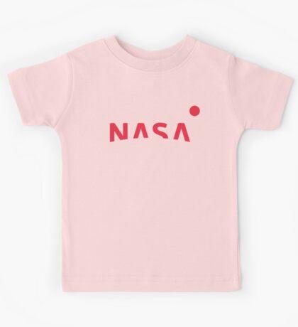 NASA New Logo 2016 (red) Kids Tee