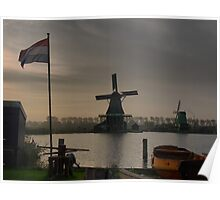 Windmills of Amsterdam (9) Poster