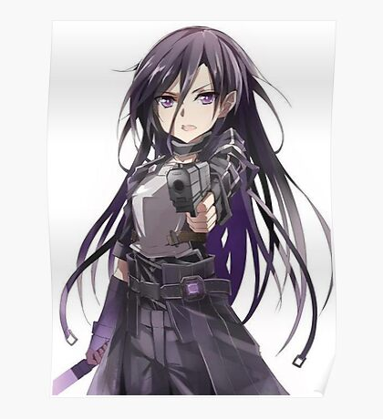 Kirito Gun Gale Online Poster