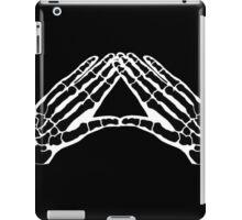 'Hands and Bones' black iPad Case/Skin