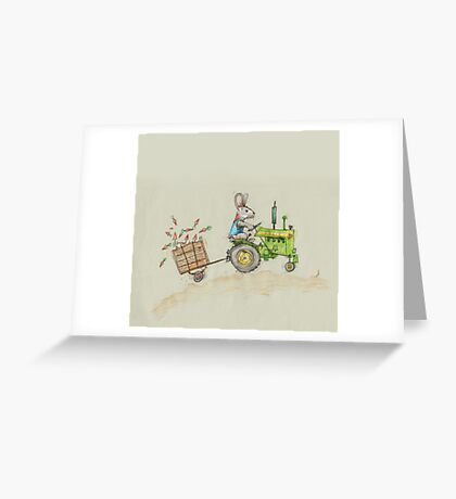 Carrot harvest Greeting Card