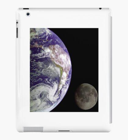 Earth and Moon iPad Case/Skin