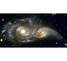 Galactic collision Photographic Print