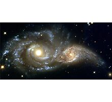 Galactic collision Photographic Print