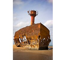 Rusting away Photographic Print