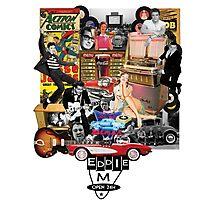 Eddie M Vintage DooWop Design Photographic Print