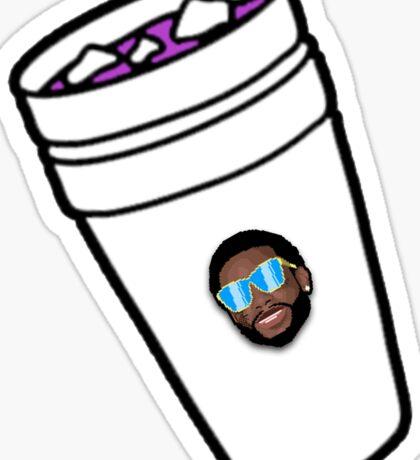 Gucci Mane Lean Cup Sticker