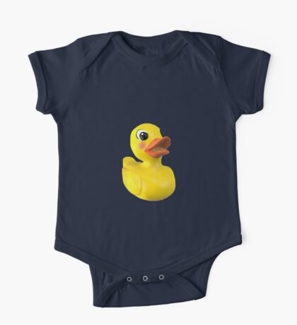 Rubber Ducky One Piece - Short Sleeve