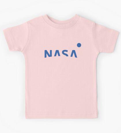 NASA New Logo 2016 (blue) Kids Tee