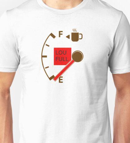 low fuel coffee Unisex T-Shirt