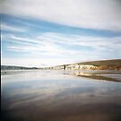Compton Bay: Holga by redcow