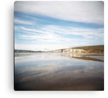 Compton Bay: Holga Canvas Print