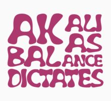 Akali As Balance Dictates Pink Text by InTheRift