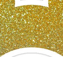 Gold Glitter Inspired Mouse Ears Sticker