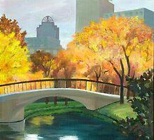 Boston Public Garden by Barbara Weir