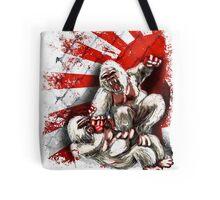 MMA fighting gorillas Tote Bag