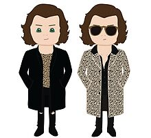 HARRY STYLES: FROM BURBERRY TO SAINT LAURENT by saladinthewind