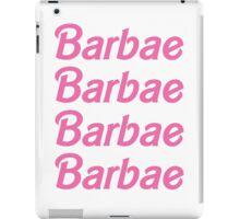 Barbae iPad Case/Skin