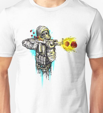 Shooting Roses Unisex T-Shirt