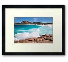 Causing a Splash Framed Print