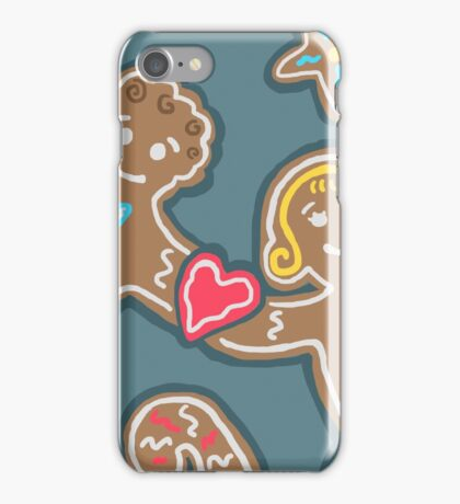 Gingerbread Couple iPhone Case/Skin