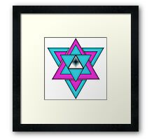 Triangles are Life Framed Print