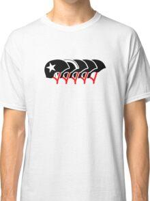 Roller Derby helmets (Black design) Classic T-Shirt