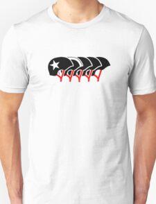 Roller Derby helmets (Black design) Unisex T-Shirt