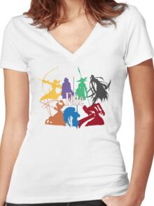 FATE Women's Fitted V-Neck T-Shirt