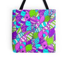 Bright psychedelic doodle Tote Bag