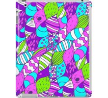Bright psychedelic doodle iPad Case/Skin