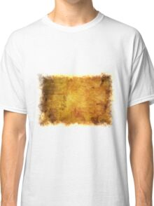 Colorful autumn leaves texture 2 Classic T-Shirt