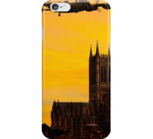 Two Lancasters over Lincoln cathedral iPhone Case/Skin