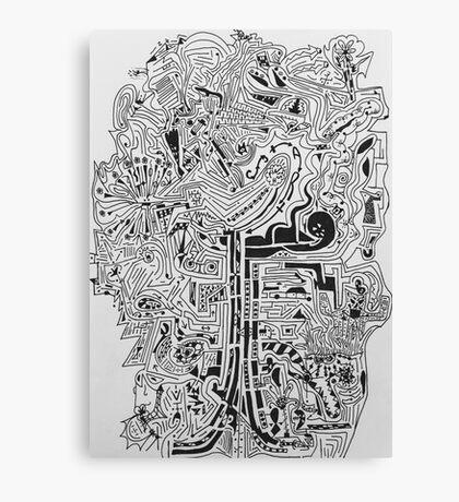 Solvable ArtMazes  Canvas Print