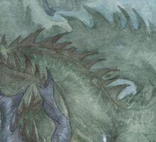 Murk Dragon - watercolours Sticker