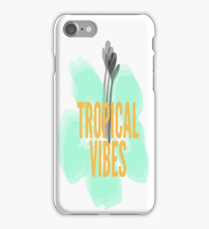 Tropical vibes  iPhone Case/Skin