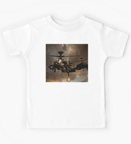 Apache Storm UK Army Helicopter Kids Tee