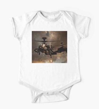 Apache Storm UK Army Helicopter One Piece - Short Sleeve
