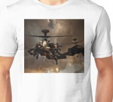 Apache Storm UK Army Helicopter Unisex T-Shirt