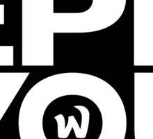 EPHWURD - EPH YOU Sticker