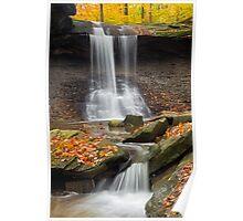 Blue Hen Falls, Cuyahoga Valley National Park Poster