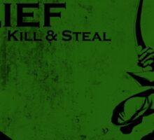 Treasure Raid - Lief: Kill & Steal Sticker