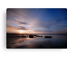 Sunset at Beacon 19 Canvas Print