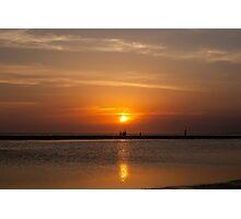 Sunset at the beach (III) Photographic Print
