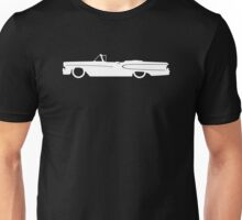Lowered car for 1958 Edsel Citation Convertible enthusiasts Unisex T-Shirt