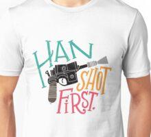 Star Wars - Han Shot First Unisex T-Shirt